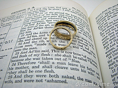 Genesis Wedding Vow and Rings