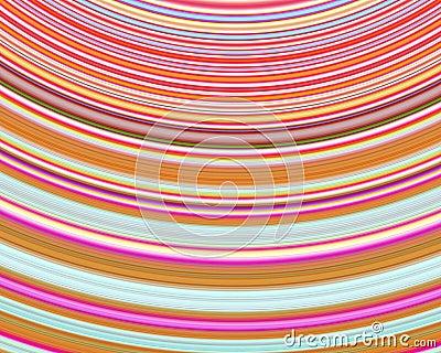 Genetic Art Heat Waves Multicolor