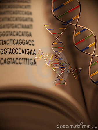 Free Genetic Code 2 Royalty Free Stock Images - 510149