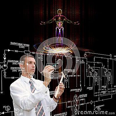 Free Genetic Engineering Royalty Free Stock Photo - 27871495