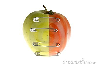 Genetic fruit manipulation with apple and tomato