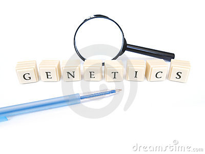 Genetics word