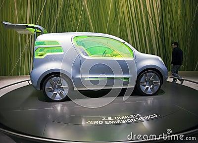 Geneva 2009 Motorshow - Renault Z.E. Concept Editorial Photo