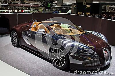 Geneva 2012 - Bugatti Veyron 16.4 Editorial Stock Image