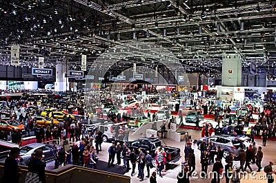 Geneva 2012 Motor Show Editorial Stock Photo