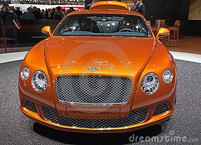 Geneva 81th International Motor Show Editorial Photography
