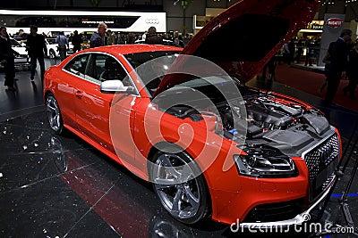 Geneva Motor Show 2010 Editorial Photo
