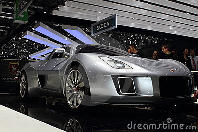 Geneva Motor Show 2011 – Gumpert Tornado Editorial Photo