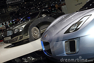 Geneva Motor Show 2011 – Gumpert Tornado Editorial Stock Photo