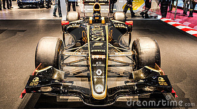Geneva Motorshow 2012 - Lotus Racing Car Editorial Image