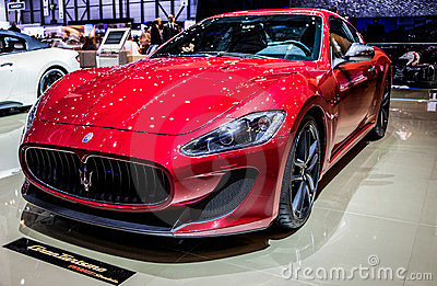 Geneva Motorshow 2012 - Maserati GranTurismo Editorial Image