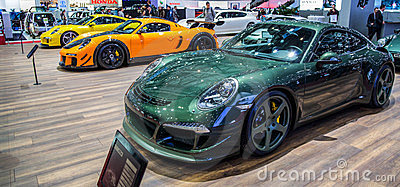 Geneva Motorshow 2012 -Ruf Rt-35 Editorial Image