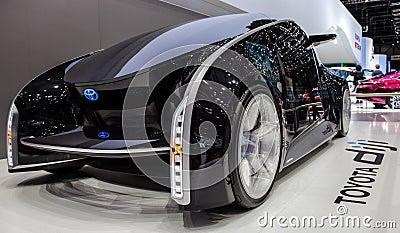 Geneva Motorshow 2012 - Toyota Diji Concept Car Editorial Image