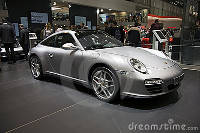 Geneva Motorshow - Porsche Targa Editorial Image