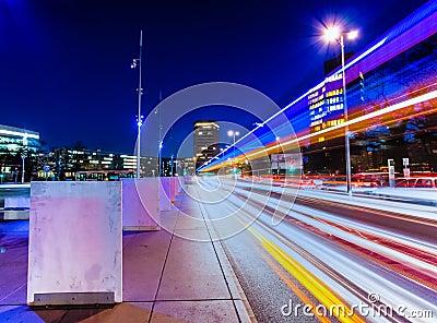 Geneva at night.