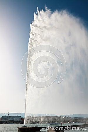 Geneva water fountain