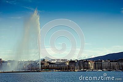 Geneva Water jet