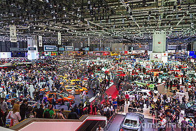 Geneve Auto Salon 2012 - Switzerland Editorial Stock Photo