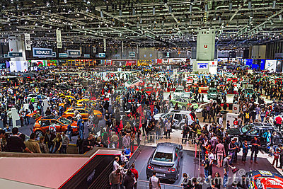 Geneve Auto Salon 2012 - Switzerland Editorial Photography