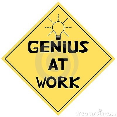 Free Genius At Work Royalty Free Stock Photography - 7515097