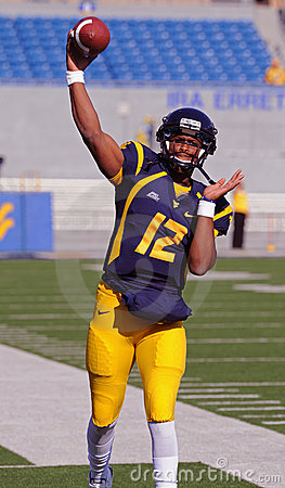 Geno Smith - WVU Quarterback Stock Images - Image: 16657644