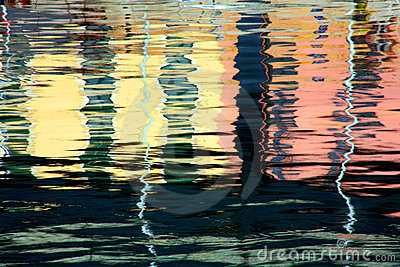 Genoa buindings reflection