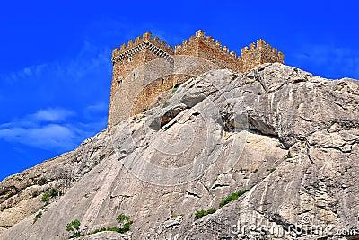 The Genoa fortress in Crimea