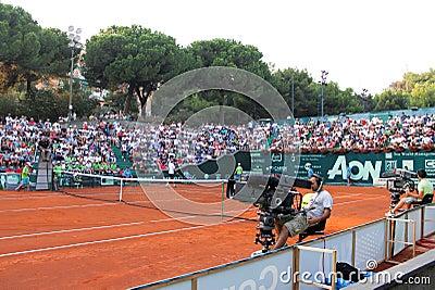 Genoa Open Challenger 2012 Editorial Photo