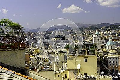 Genoa - panorama