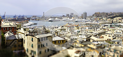 Genoa port tilt shift