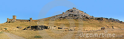 Genoese fortress panorama