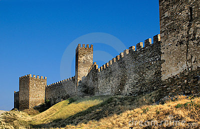 Genoese fortress wall