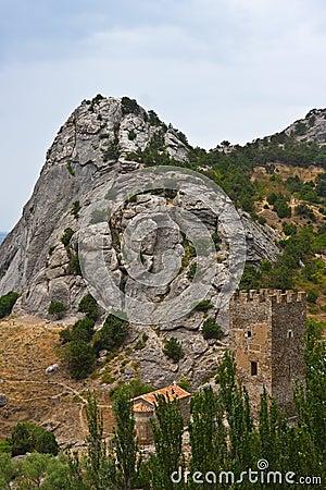 Genoese medieval fortress