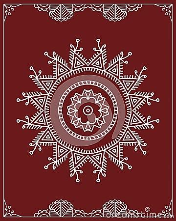 gens conception tribale motif peinture de mur illustration de vecteur image 44950614. Black Bedroom Furniture Sets. Home Design Ideas