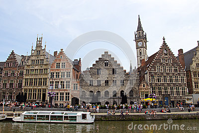 Ghent Belgium Editorial Stock Photo