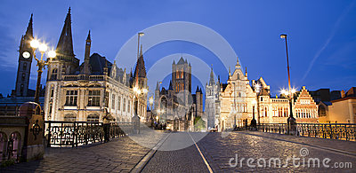 Gent - in evening