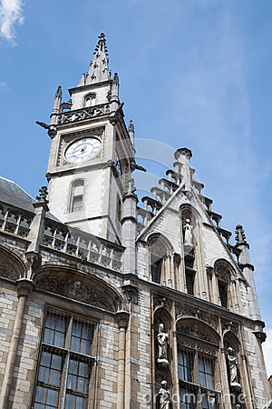 Gent - Post palace in morning light