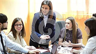 Gente di affari all'ufficio