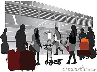 Gente que viaja