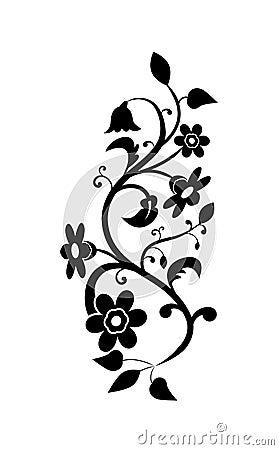 Gentile floral background
