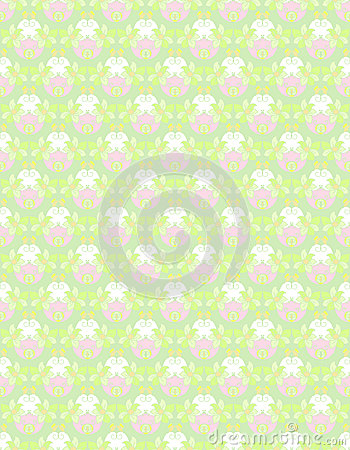 Gentle floral pattern