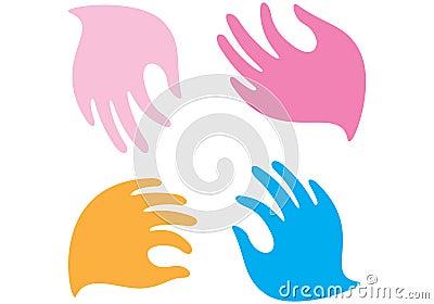 Gentle hands and fingers