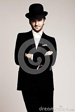 Gentleman with hat