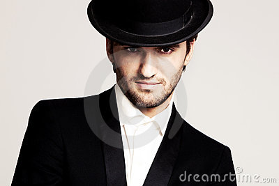 Gentleman with hat