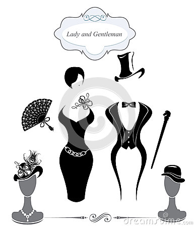 Gentleman and Lady symbols