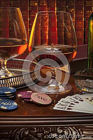 Free Gentlemans Club - Cognac - Brandy Stock Photos - 36983463