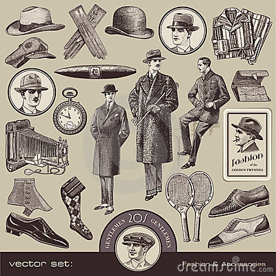 Free Gentlemen S Fashion And Accessories Royalty Free Stock Photography - 22146007
