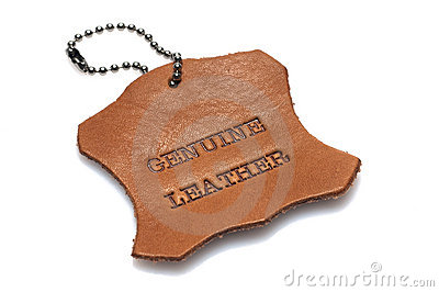 Genuine Leather Label Royalty Free Stock Image  Image: 12966296