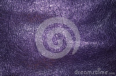 Genuine leather, purple