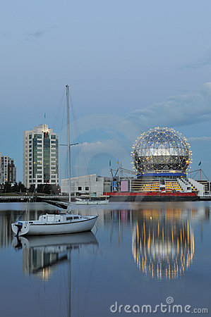 Geodesic Dome Of Science World Stock Image - Image: 5802211